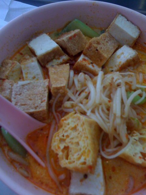 tofu laksa