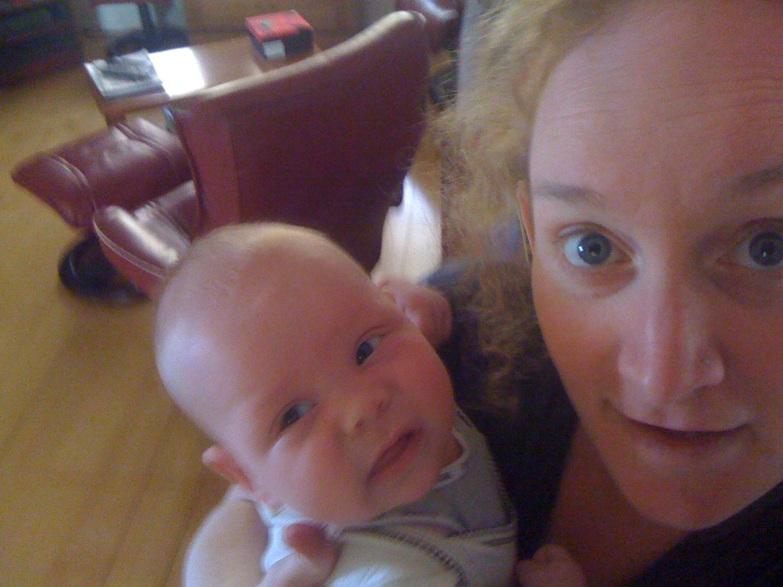 Me and You Today - 11 weeks 6 days.  Gee you're big!