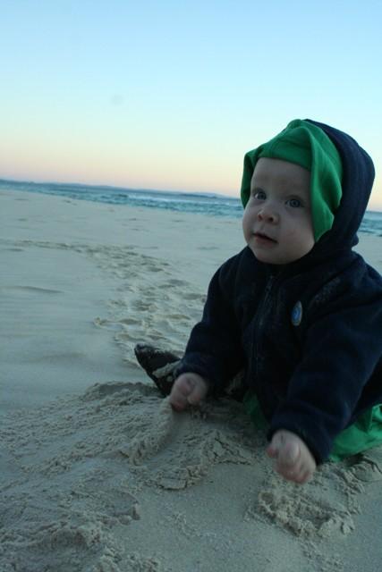 sand for breakfast