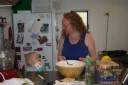 cooking with a baby