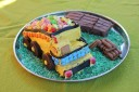 the tip-truck birthday cake ...