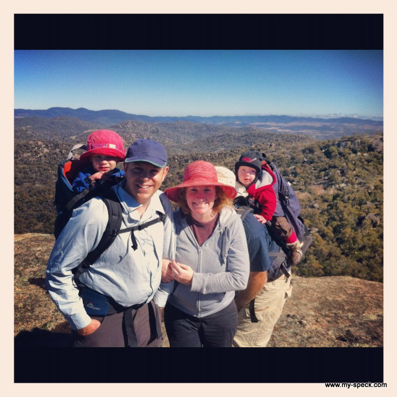 at the top of the rock - The Pyramid - Girraween National Park